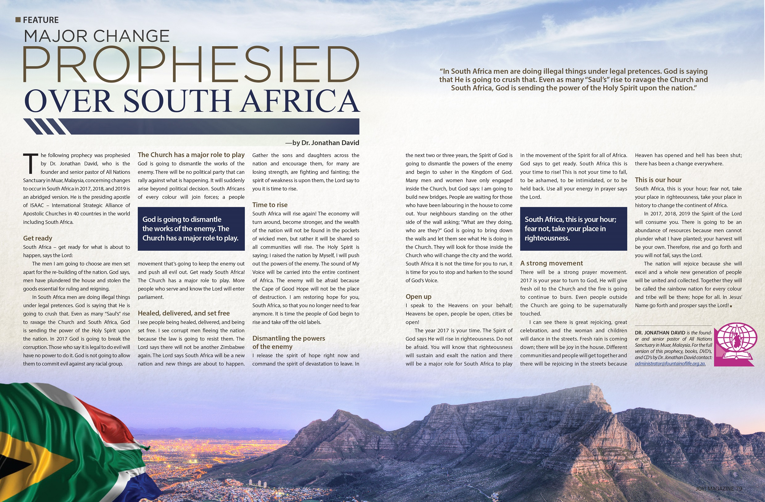 South Africa Prophecies 23