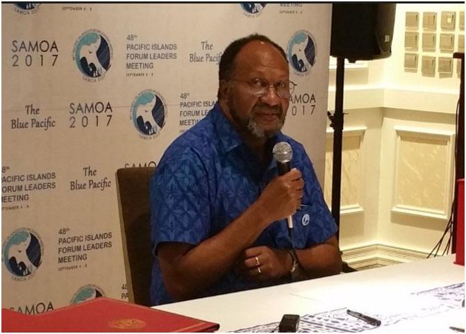 Vanuatu Minister