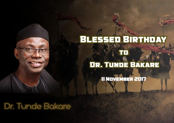 Blessed Birthday To Dr. Tunde Bakare
