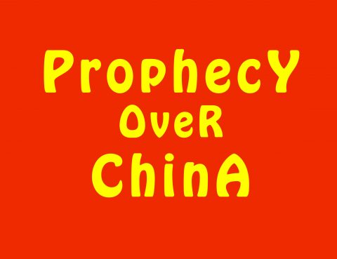 Prophecy Over China